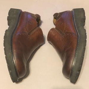 Ariat Brown Leather Slip On Loafers Womens ABZ3
